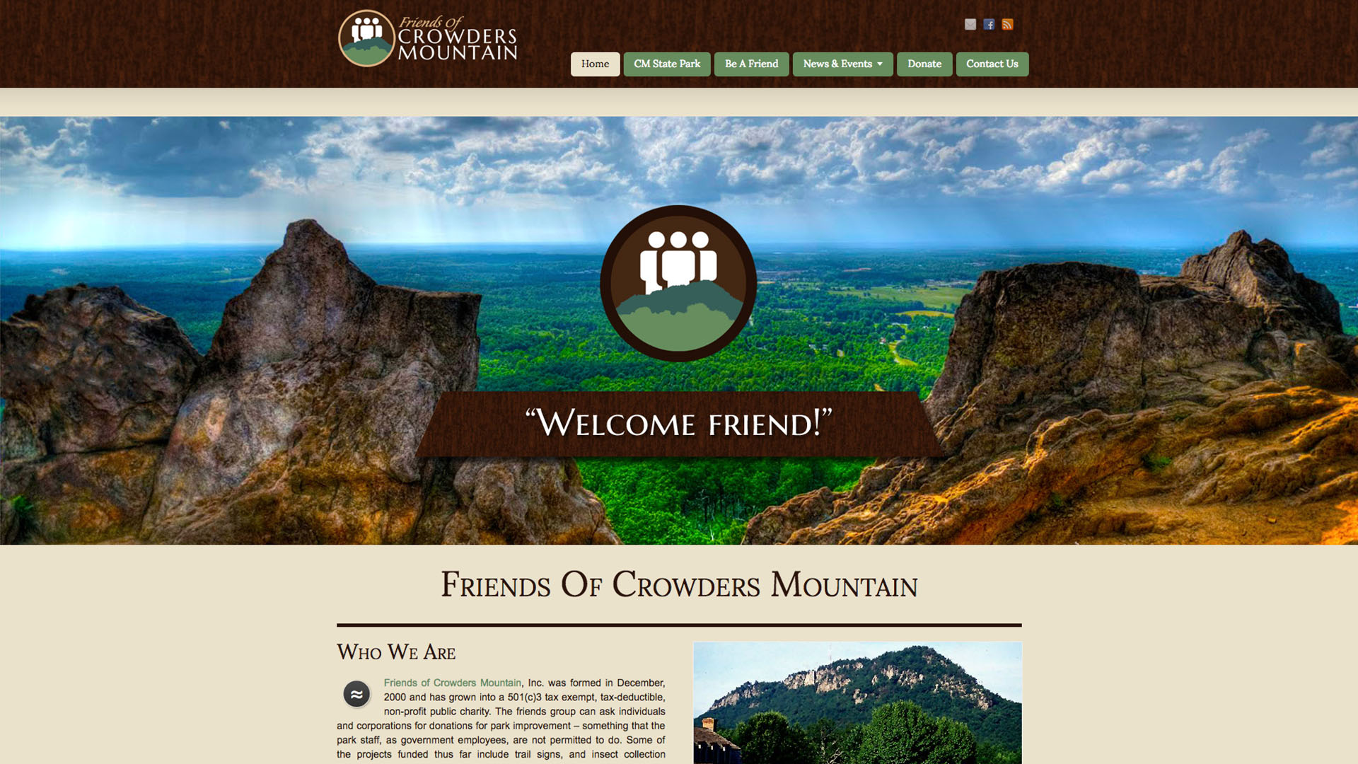 Friends of Crowders Mountain