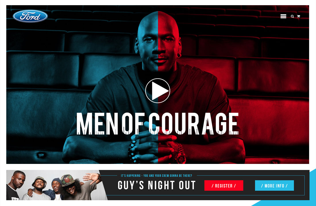 Ford Motors - Men of Courage